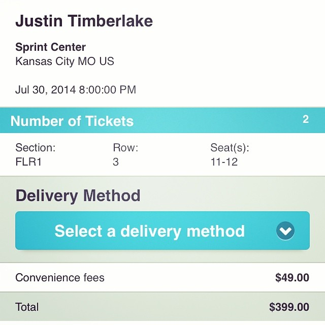 Great seats available for Justin Timberlake Tonight on axs.com